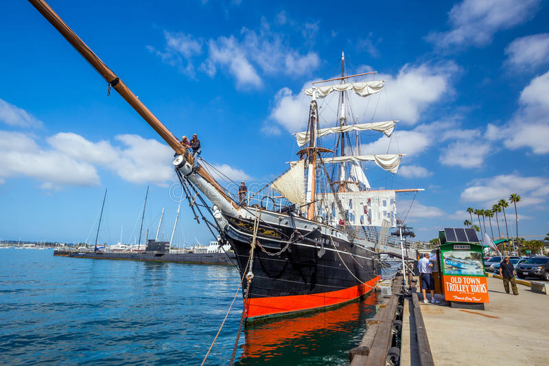 圣地亚哥海博物馆  免版税库存图片