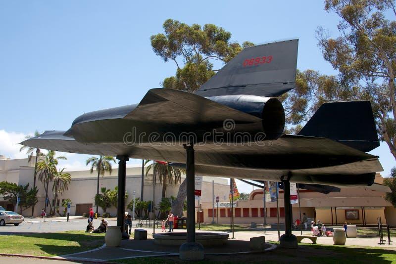 圣地亚哥空气&太空博物馆 免版税库存照片