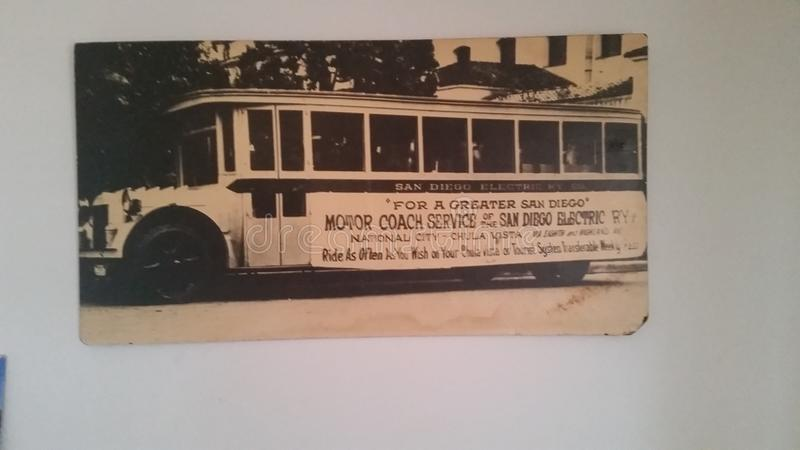 圣地亚哥运输 库存图片