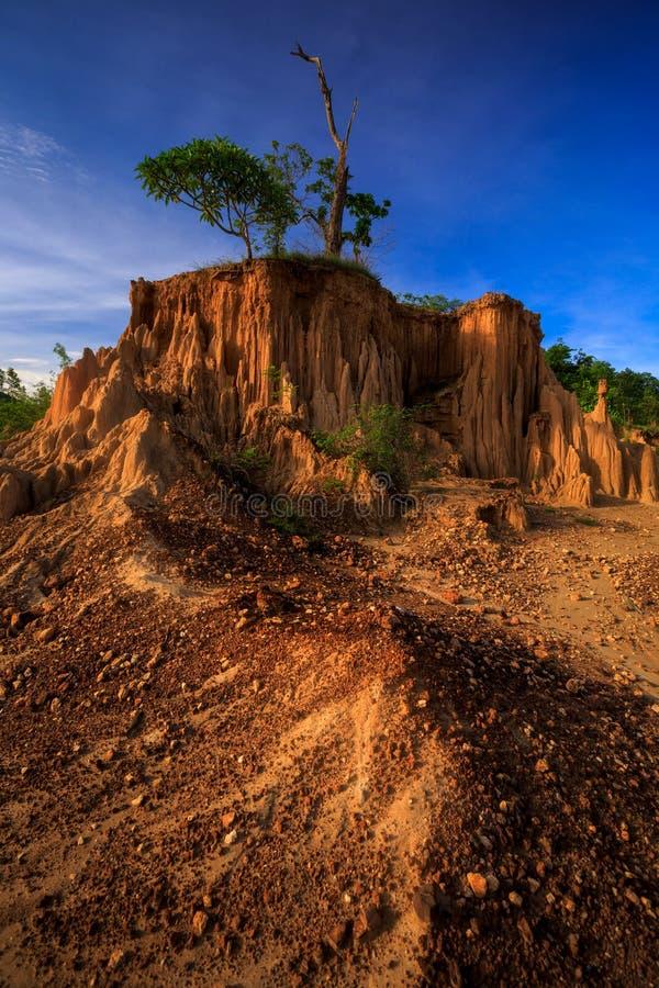 圣地声浪Na Noi在Sri南国家公园,楠府,泰国 免版税库存照片