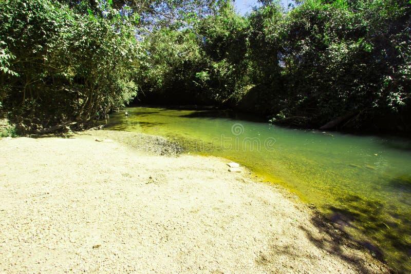 圣地Bartolomeu河 库存照片