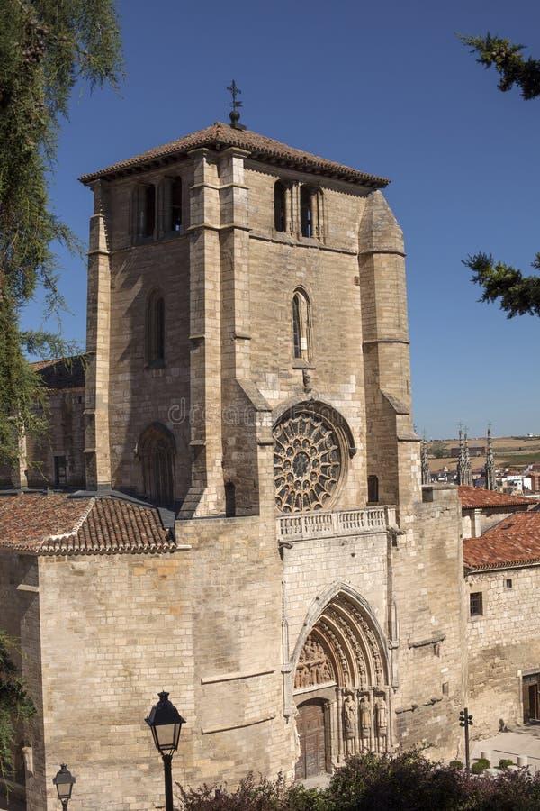 圣埃斯特万教会 免版税图库摄影