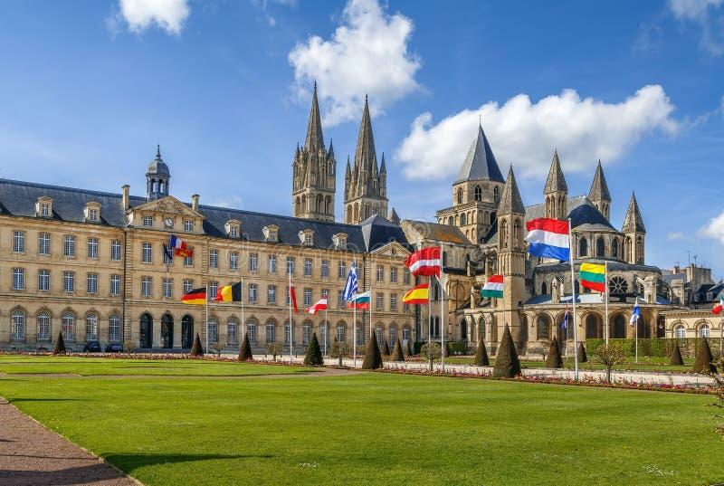 圣埃蒂尼,凯恩,法国修道院  免版税库存照片