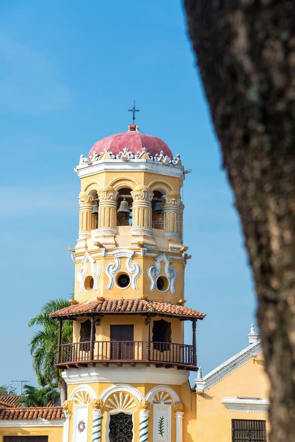圣塔巴巴拉教会 免版税库存照片