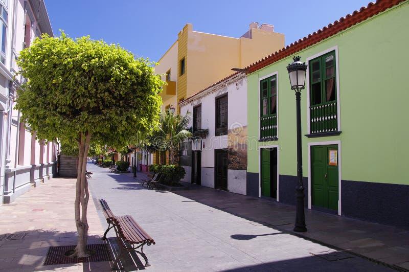 圣塞瓦斯蒂安DE戈梅拉岛;加那利群岛,西班牙 免版税库存照片