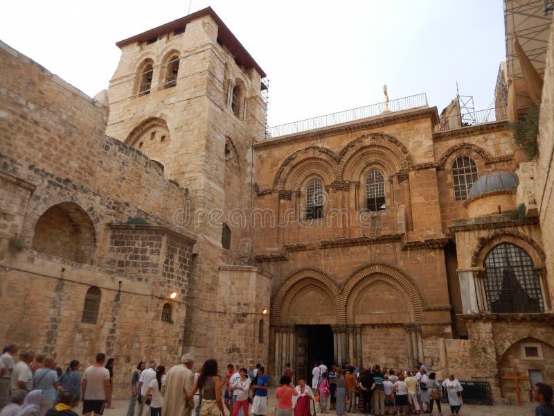 圣墓教堂,耶路撒冷,以色列 免版税库存图片