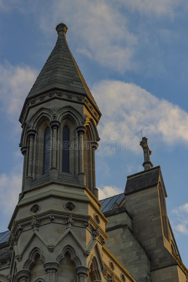 圣奥尔本斯大教堂  免版税库存图片