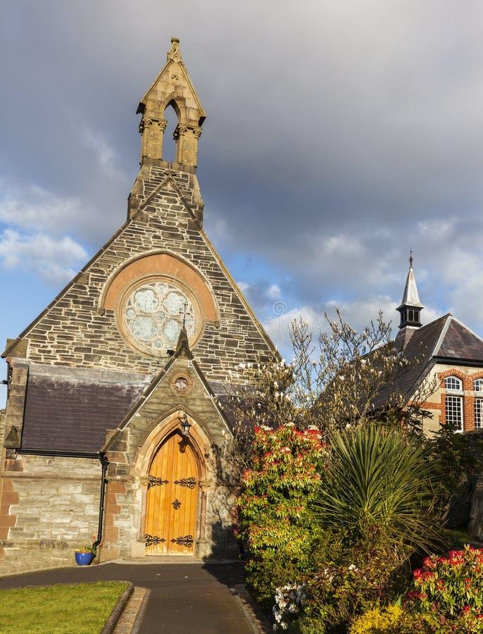 圣奥斯丁爱尔兰教会 免版税库存图片