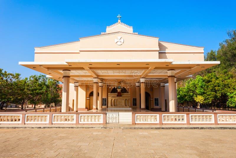 圣安妮教会,斯里兰卡 免版税库存图片