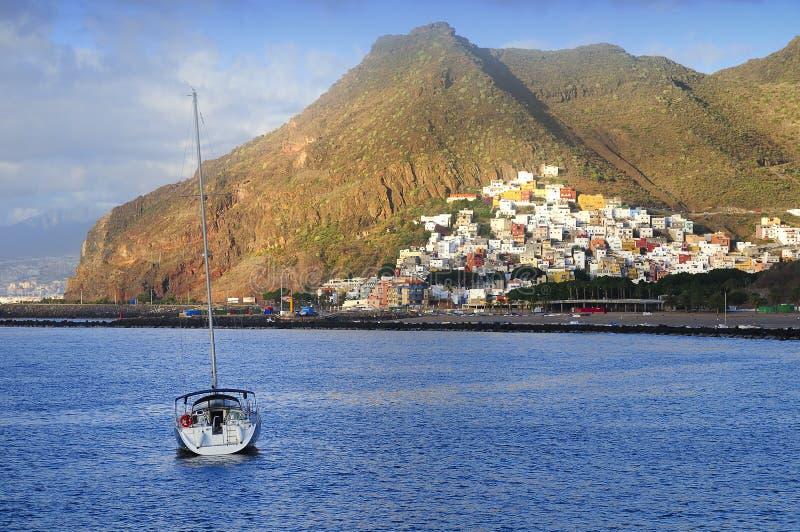 圣安德烈斯,特内里费岛,加那利群岛,西班牙 免版税库存图片