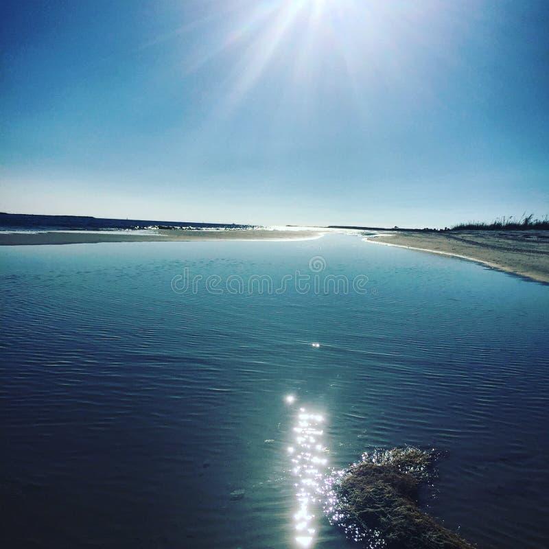 圣安德鲁斯海湾的国家公园 免版税库存图片