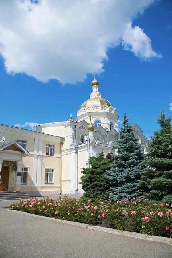 圣安德鲁的教会在斯塔夫罗波尔,俄罗斯 免版税库存照片