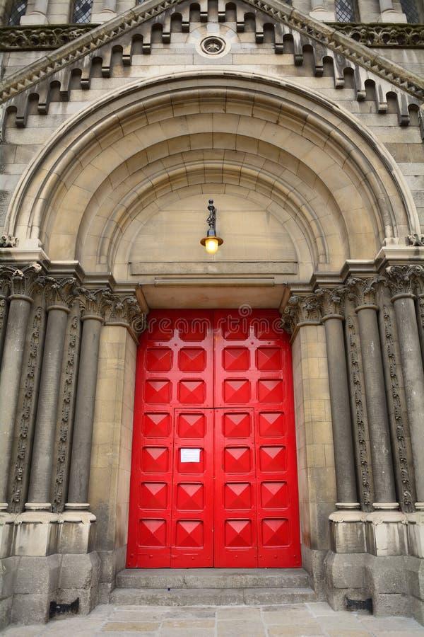 圣安教会,都伯林,爱尔兰 图库摄影