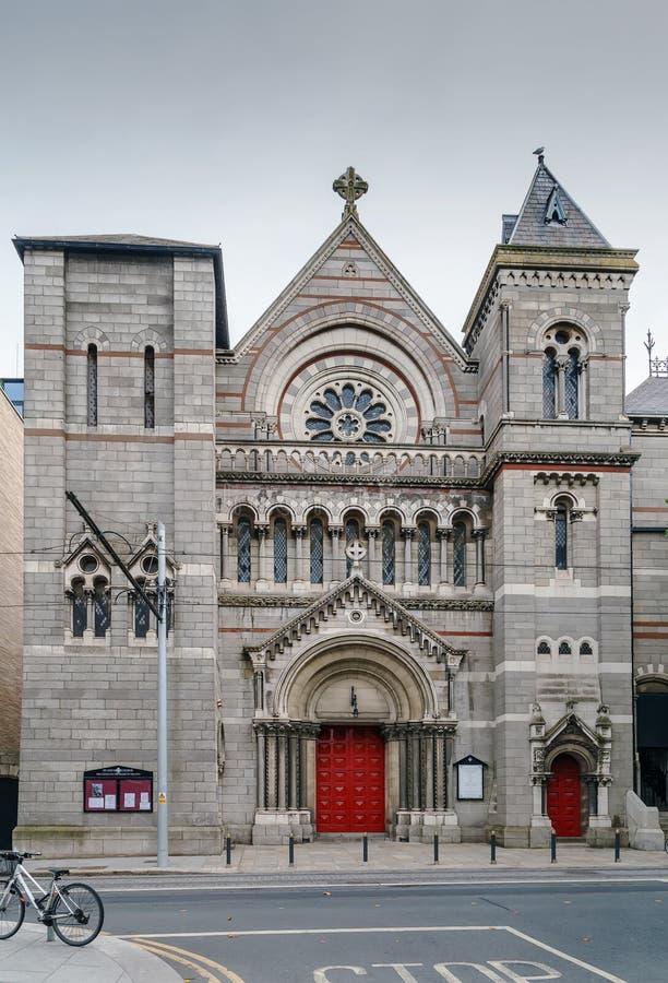 圣安的教会,都伯林,爱尔兰 库存图片