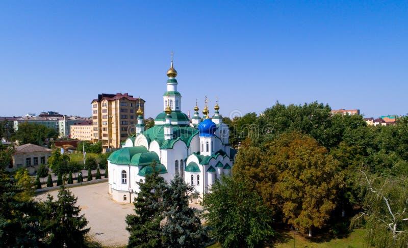 圣尼古拉斯大教堂在Armavir 库存图片
