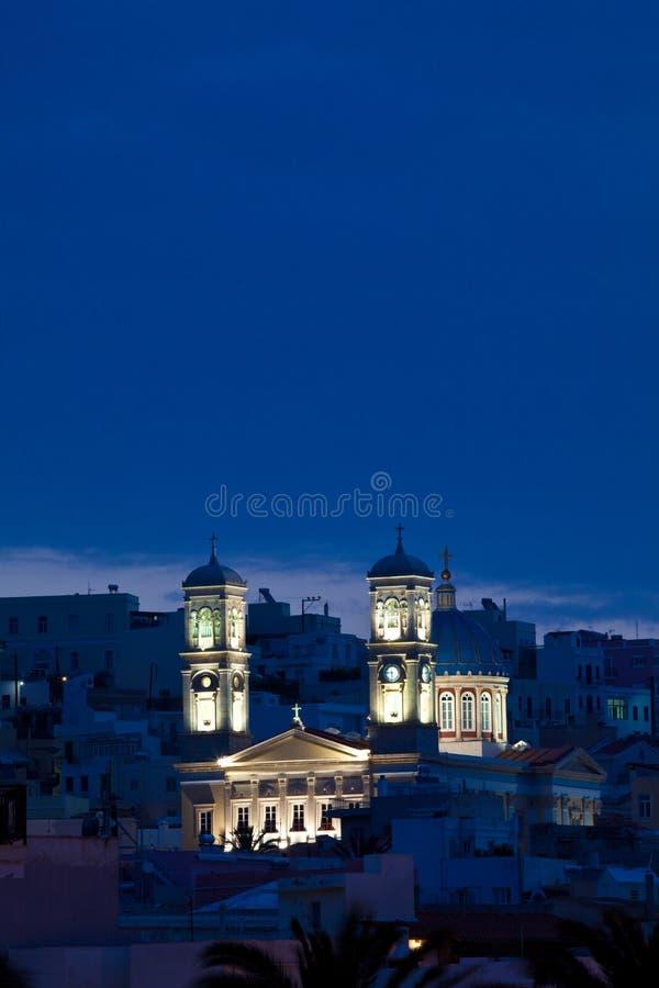 圣尼古拉斯大教堂  免版税库存图片