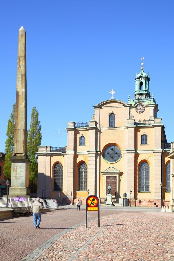 圣尼古拉斯大教堂 免版税库存照片