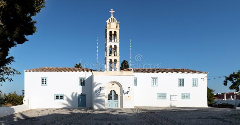 圣尼古拉斯大教堂Spetses 免版税库存照片