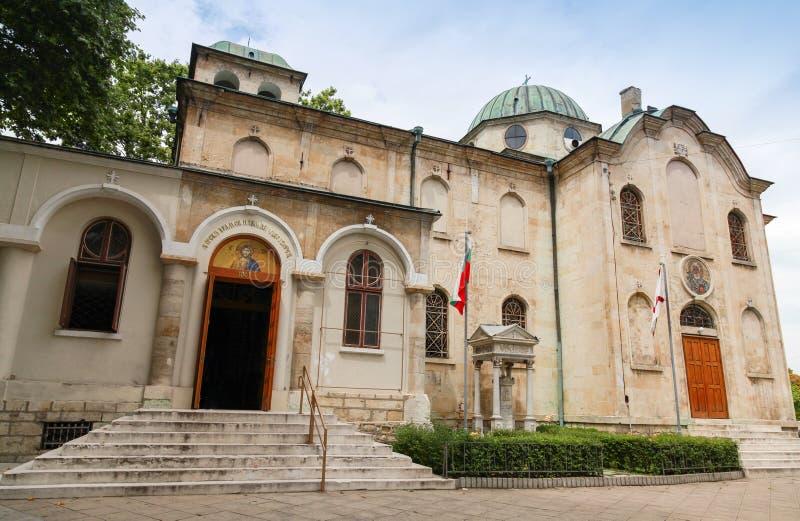 圣尼古拉斯奇迹制造商教会,瓦尔纳 免版税库存图片