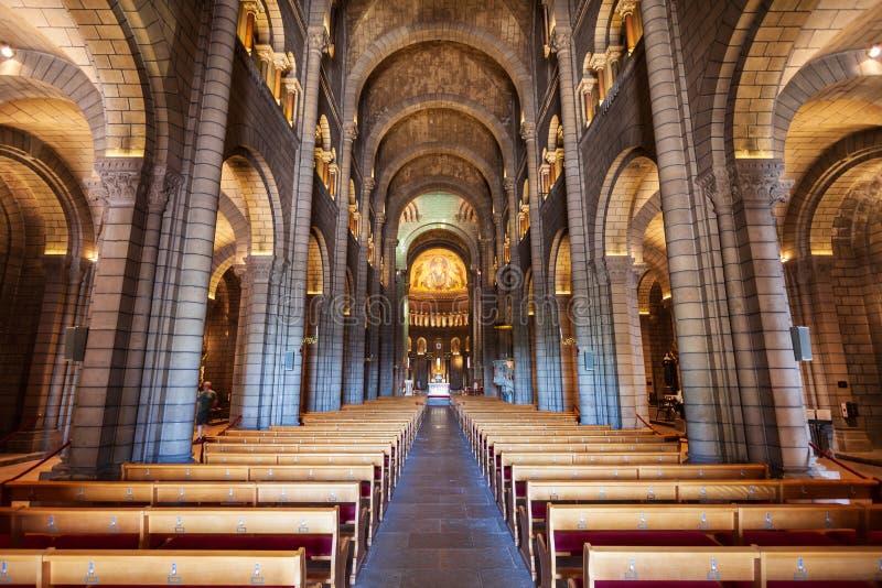 圣尼古拉斯宽容大教堂,摩纳哥 库存图片