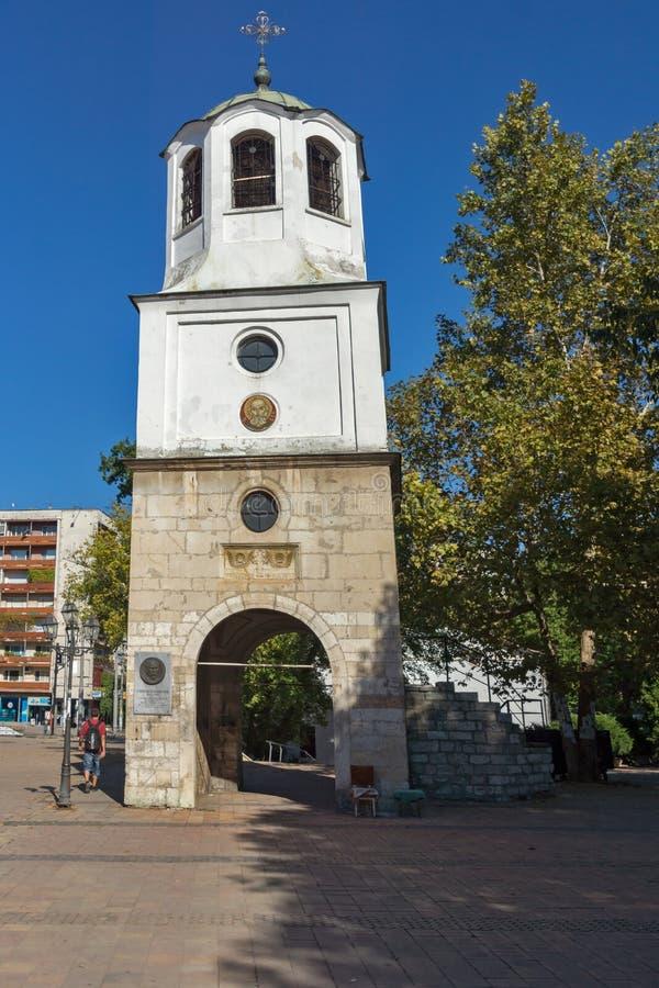 圣尼古拉斯教会在市普列文,保加利亚 免版税库存照片