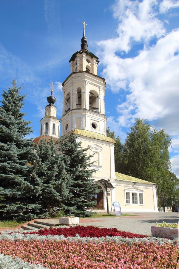 圣尼古拉斯教会在弗拉基米尔市,俄罗斯 图库摄影