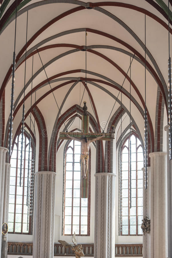 圣尼古拉斯教会柏林 库存图片