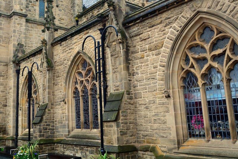圣尼古拉斯教会,达翰姆,英国 免版税库存图片
