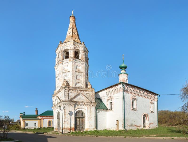 圣尼古拉斯教会 苏兹达尔,弗拉基米尔地区,俄罗斯 库存照片