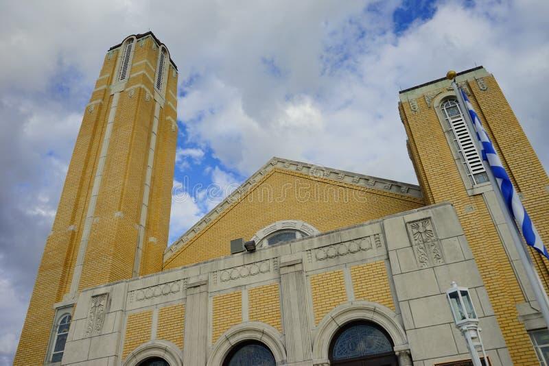 圣尼古拉斯教会 库存图片