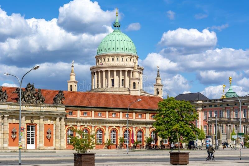 圣尼古拉斯的教会圆顶,波茨坦,德国 免版税库存照片