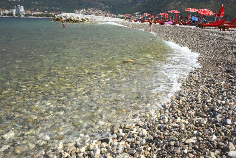 圣尼古拉斯,布德瓦,黑山海岛  免版税图库摄影