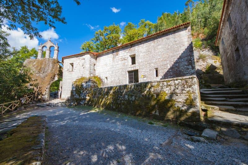 圣岩石` s佩德罗修道院  免版税库存图片