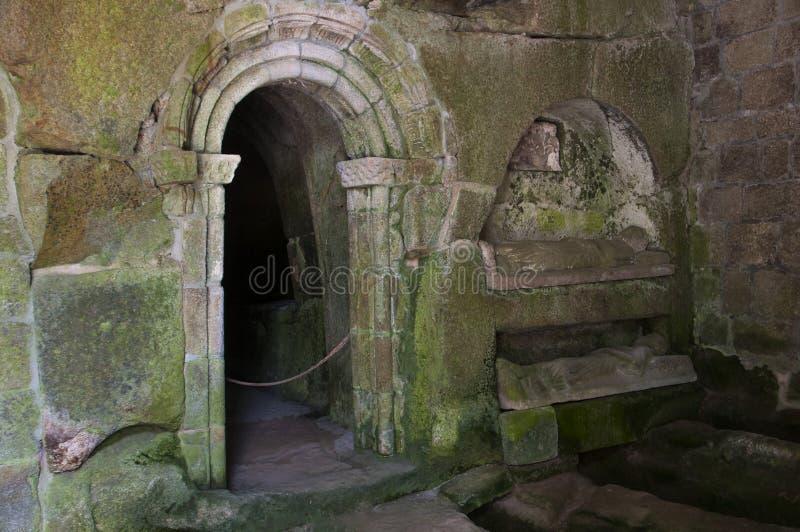 圣岩石` s佩德罗修道院  免版税库存照片