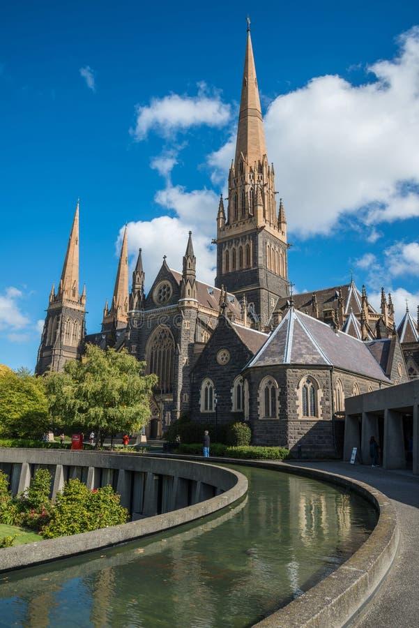 圣帕特里克大教堂在墨尔本,澳大利亚