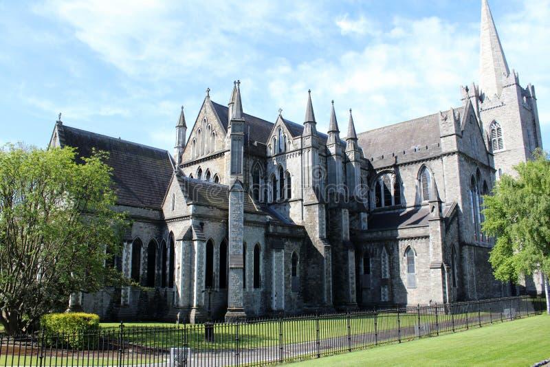 圣帕特里克` s大教堂,都伯林,爱尔兰 库存照片