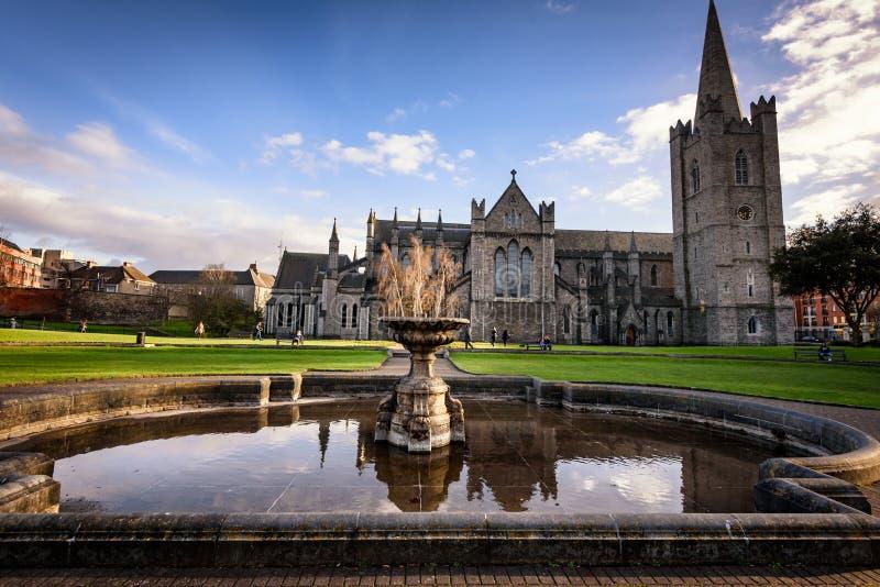 圣帕特里克` s教会都伯林爱尔兰欧洲 库存图片