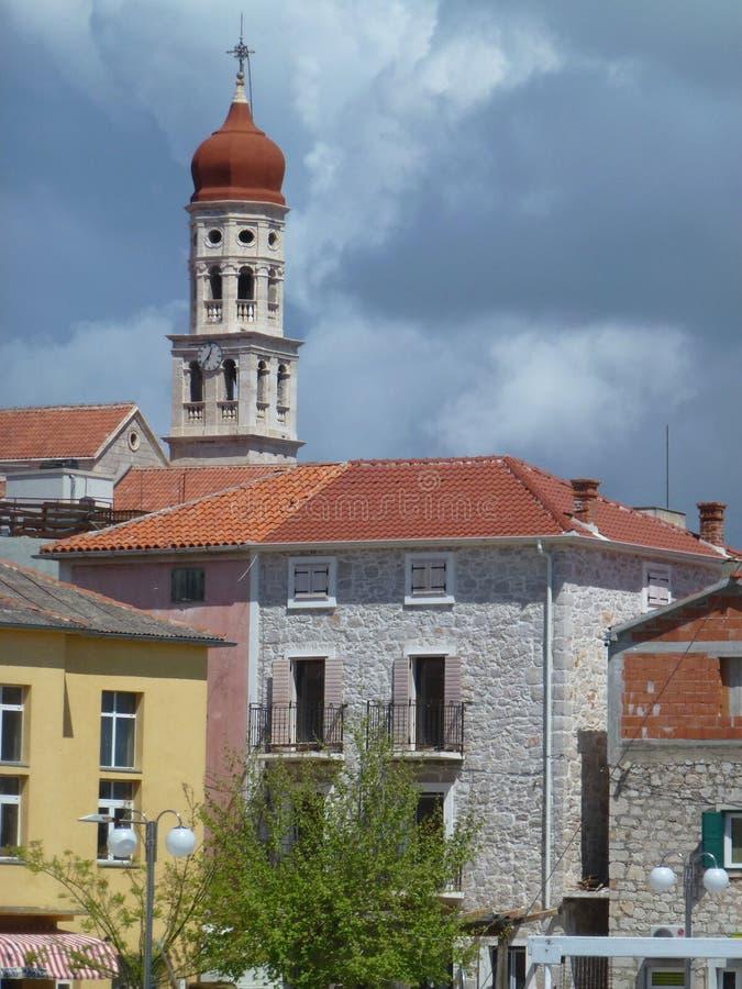 圣弗朗西斯教会的塔 库存图片