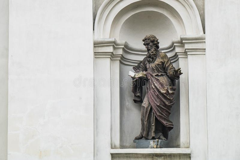 圣彼得和保罗大教堂在卢茨克,乌克兰 免版税库存照片
