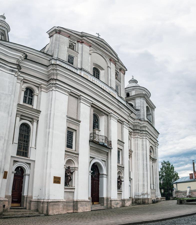 圣彼得和保罗大教堂在卢茨克,乌克兰 免版税库存图片