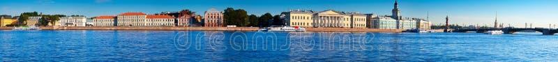 圣彼得堡全景  免版税库存照片