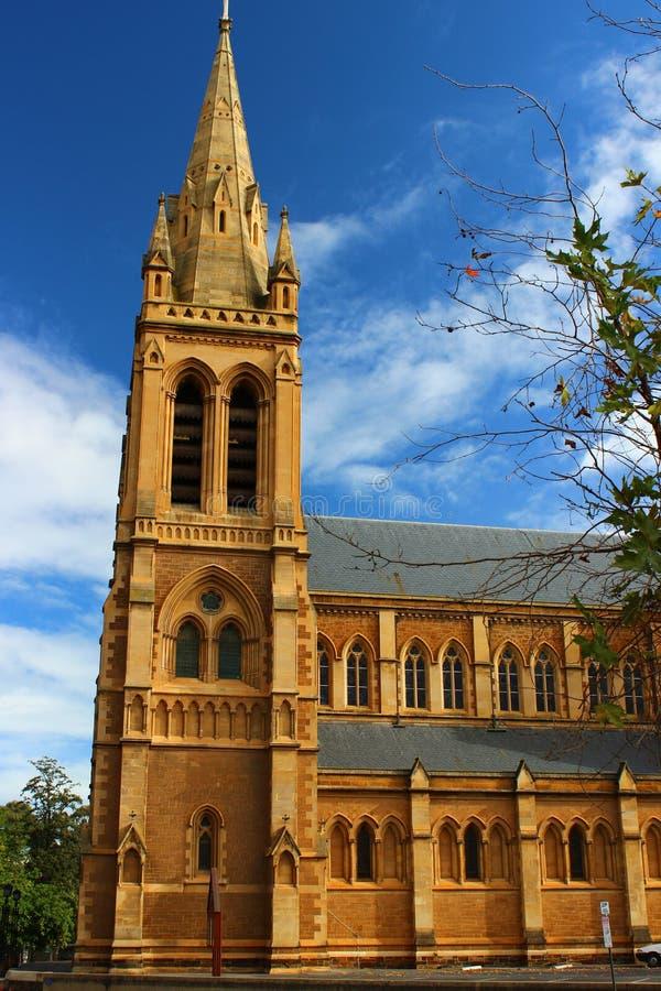 圣彼得大教堂在阿德莱德 库存照片