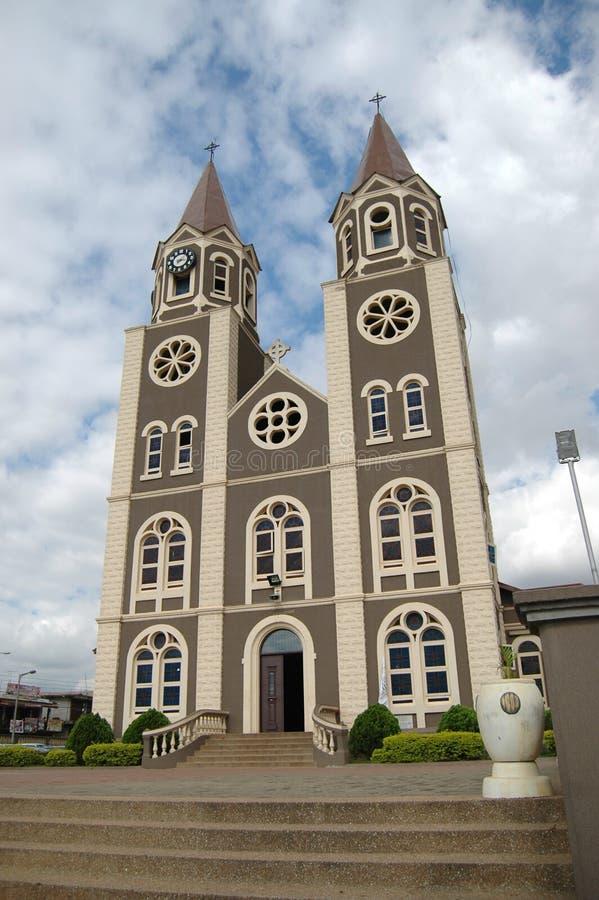 圣彼得大教堂,库马西,加纳 免版税库存照片