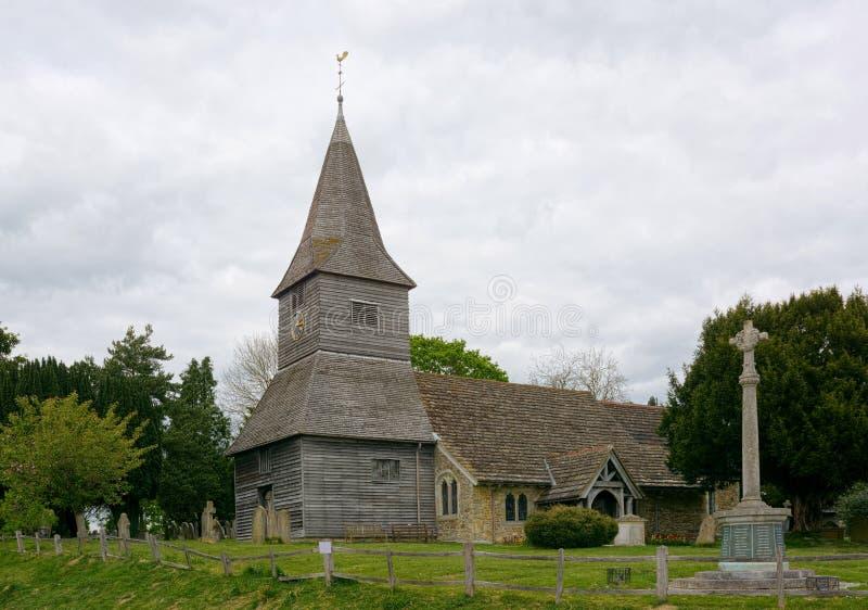 圣彼得教会,Newdigate,萨里,英国 库存图片
