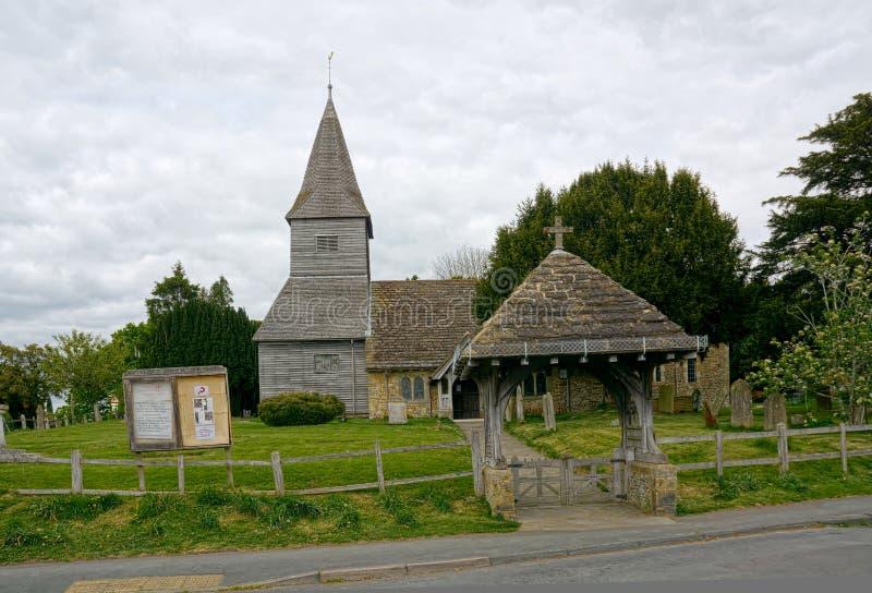圣彼得教会,Newdigate,萨里,英国 库存照片