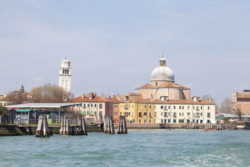 圣彼得罗di Castello,威尼斯,威尼托,意大利海岛  免版税库存照片