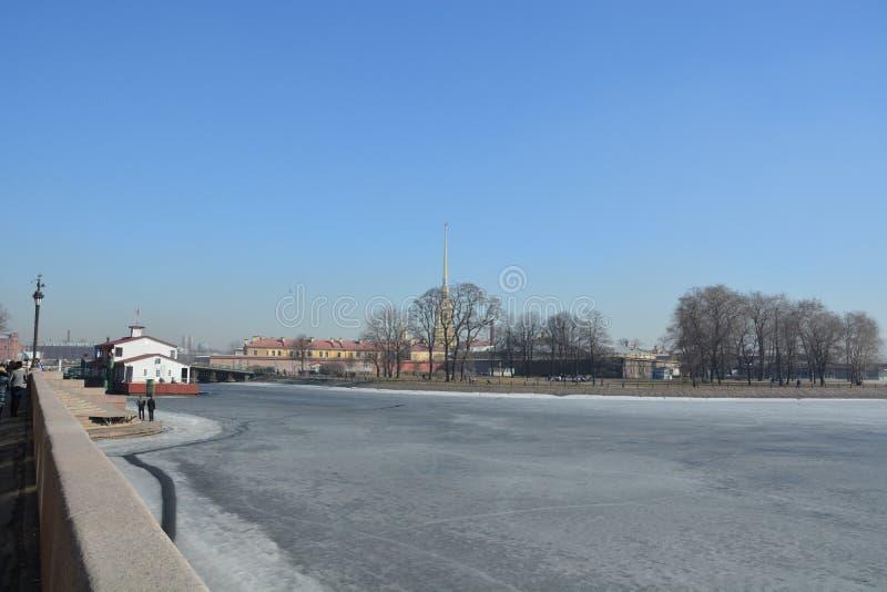 圣彼德堡中心 免版税库存图片