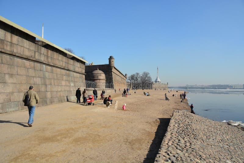 圣彼德堡中心 库存照片