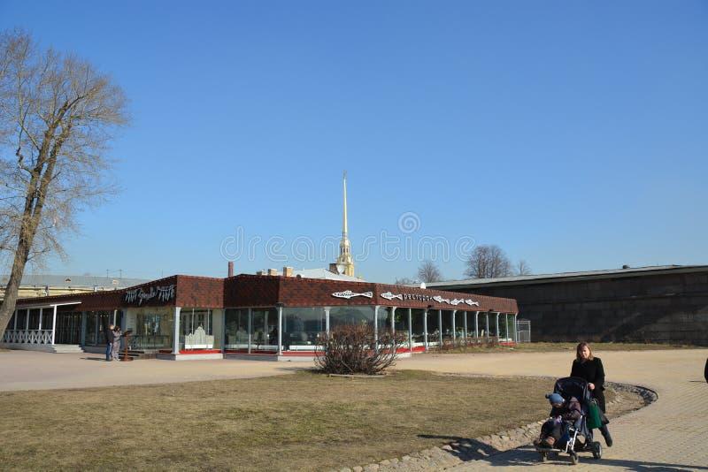 圣彼德堡中心 库存图片
