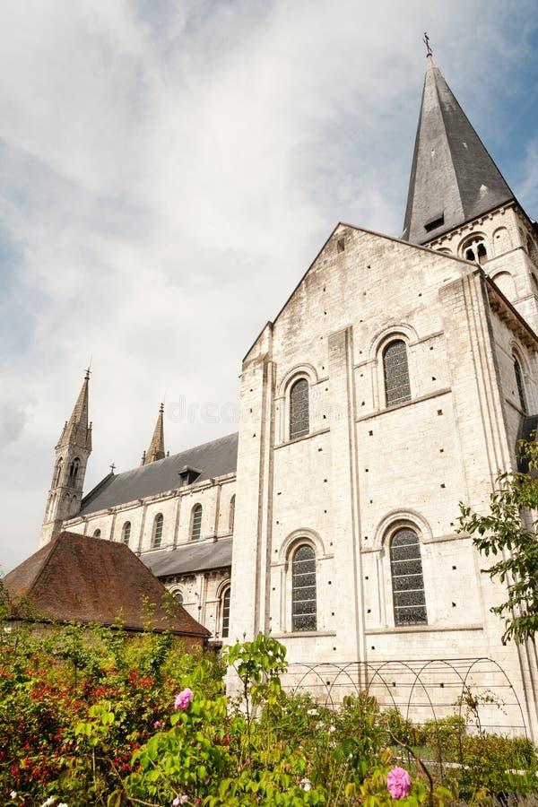 圣徒乔治de Boscherville Abbey 库存照片